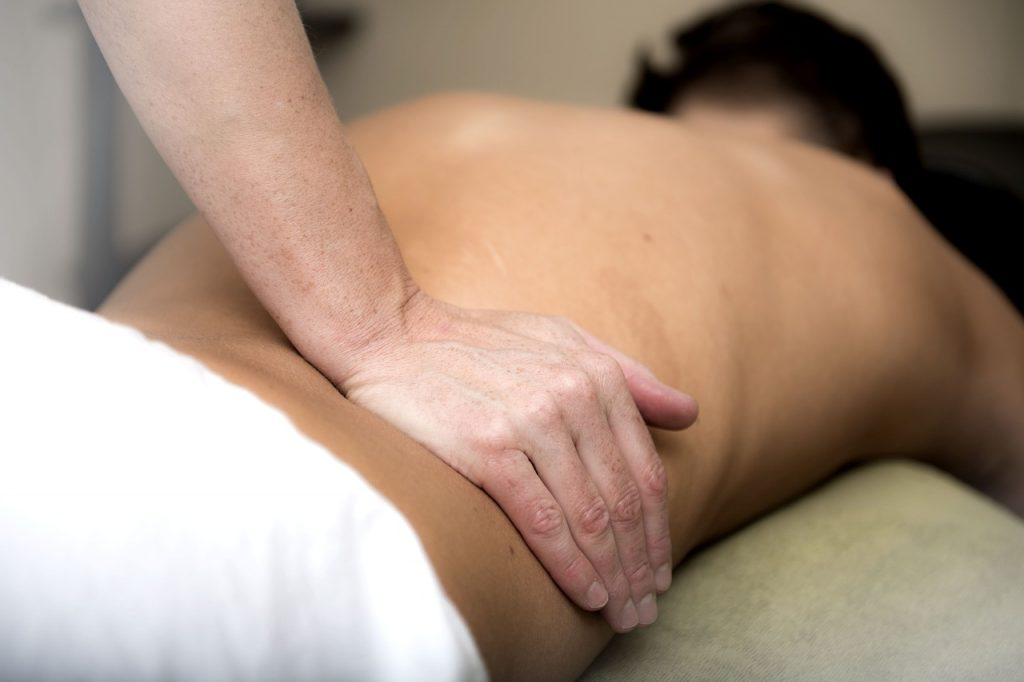 massage, relaxation, lower back