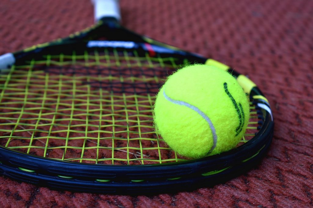 tennis, racket, tennis ball